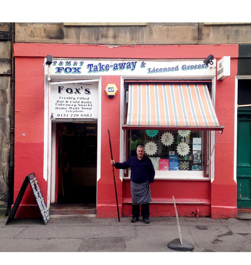 Schop, Edinburgh