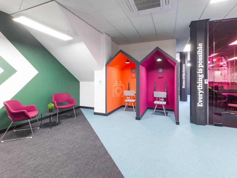 Pentagon Coworking - BizSpace, Glasgow