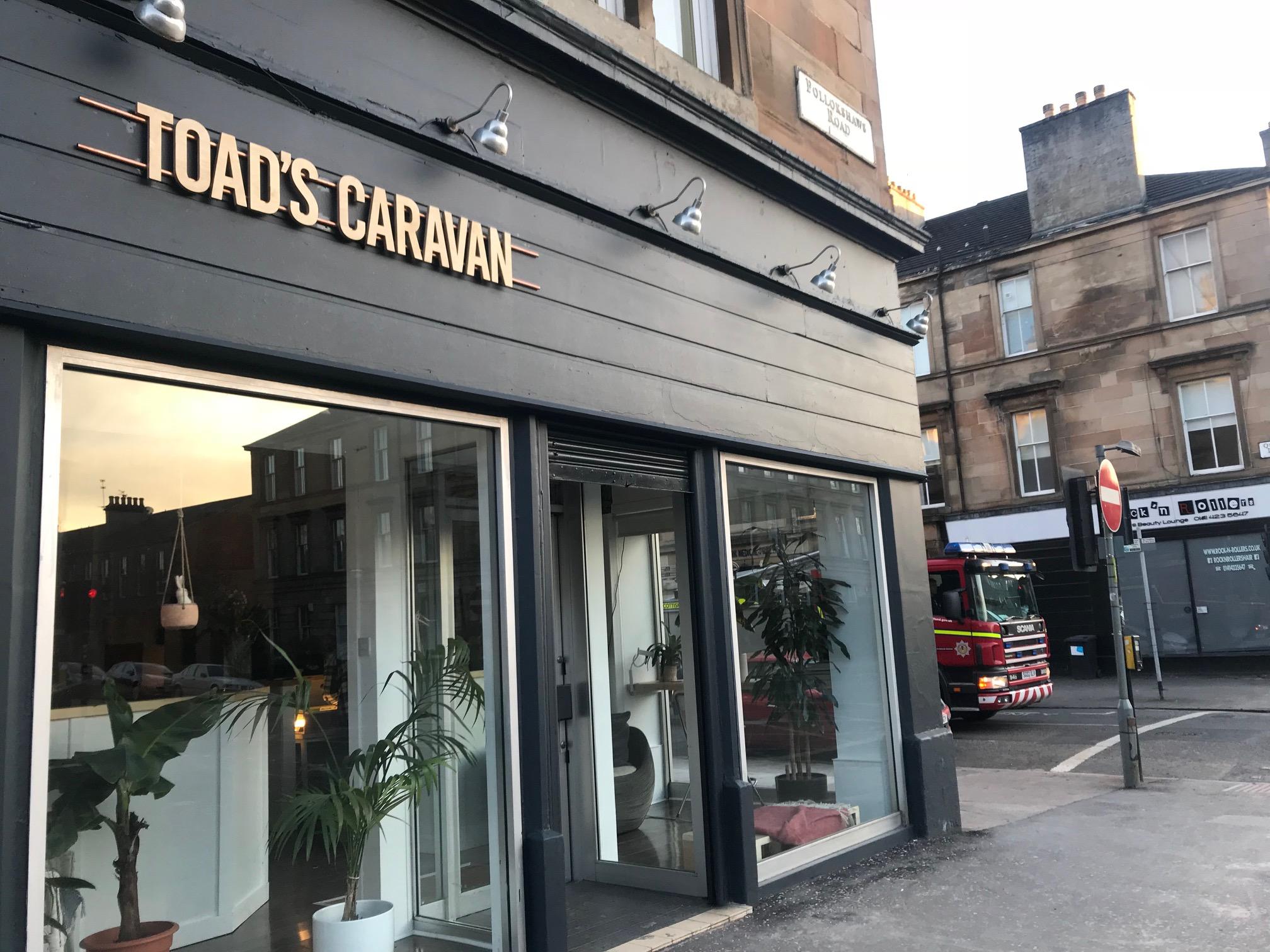 Toad's Caravan, Glasgow