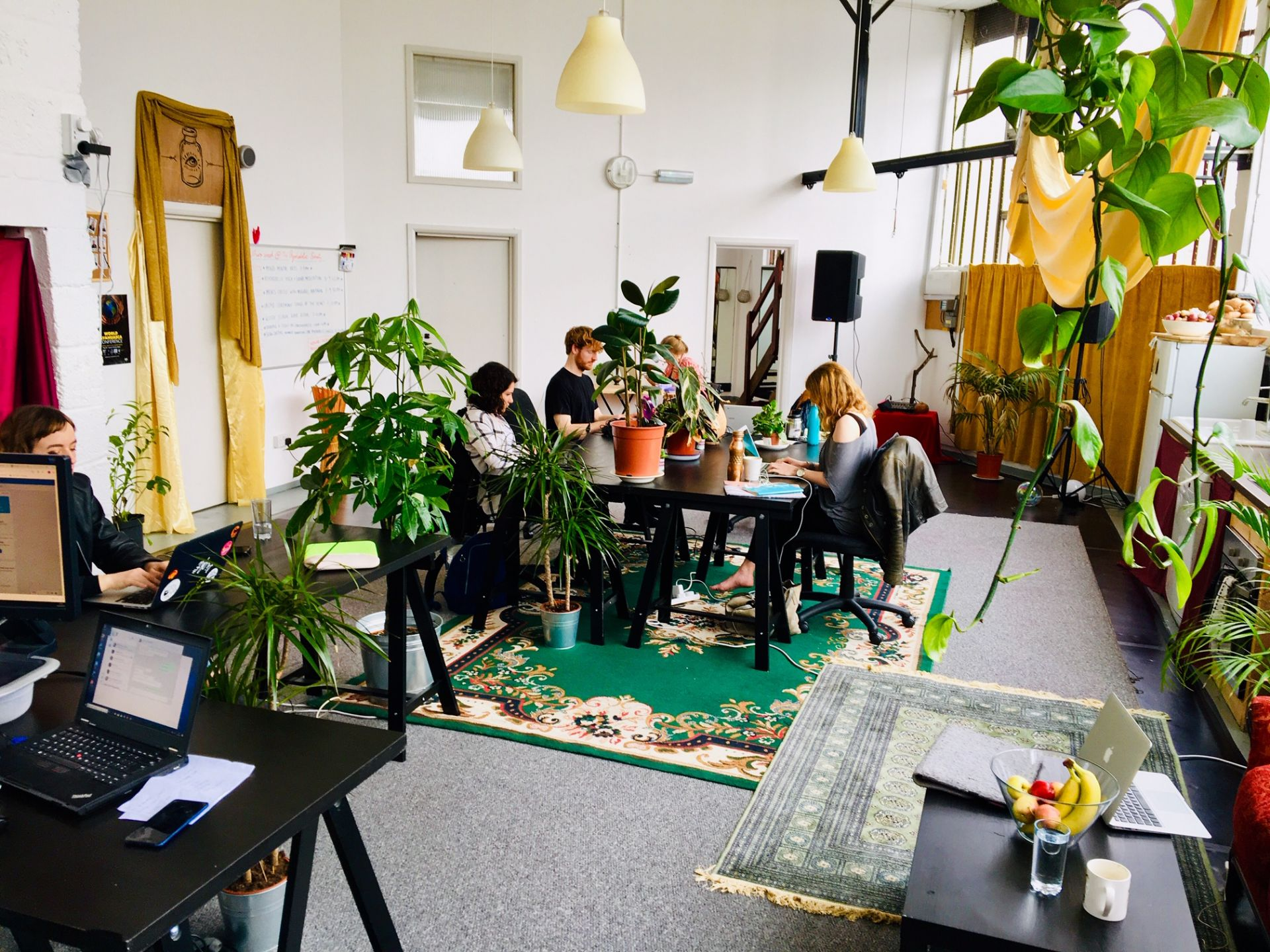 Co-working @ The Psychedelic Society, London