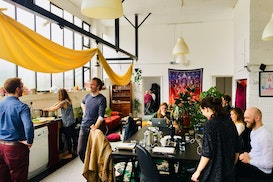 Co-working @ The Psychedelic Society, Brentford