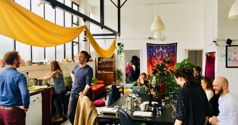 Co-working @ The Psychedelic Society, London | coworkspace.com