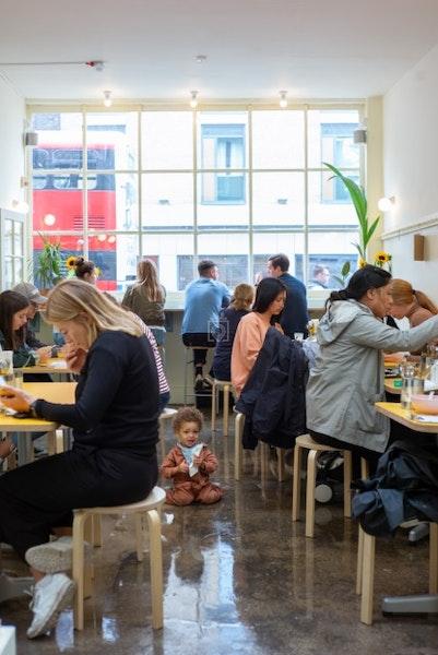 Snackbar, London