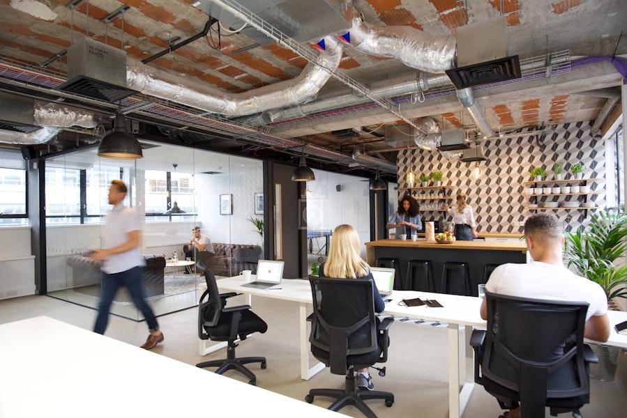 Techspace - Luke street, London