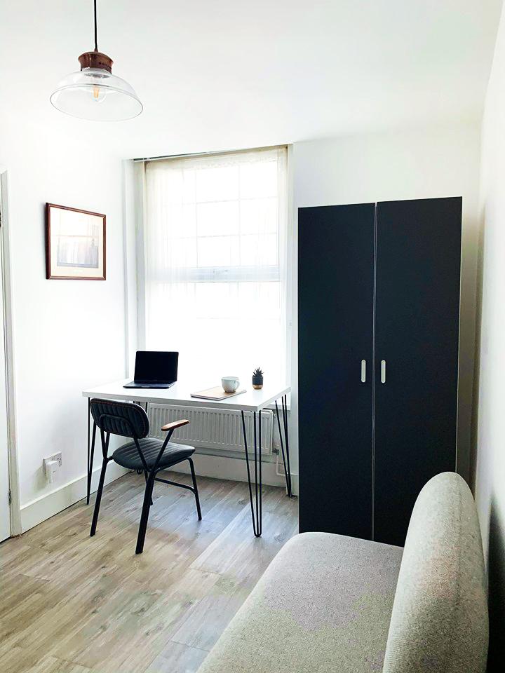 the Co-Dalston temporary studio workspaces, London