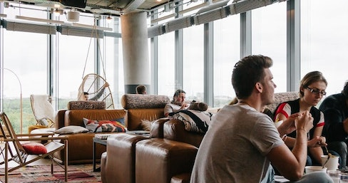 WeWork 1 Poultry, London | coworkspace.com