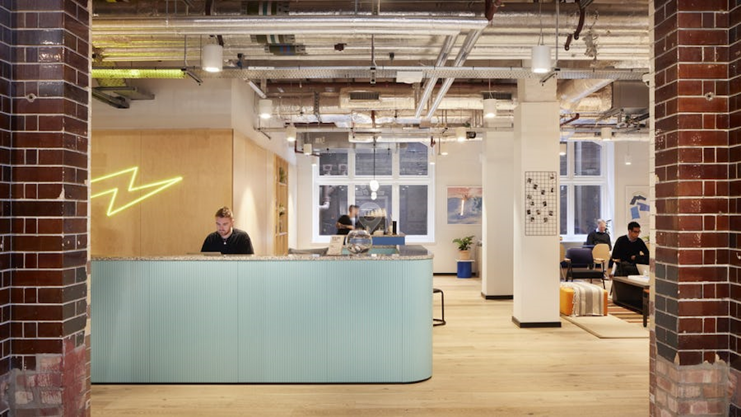 WeWork 1 Waterhouse Square, London