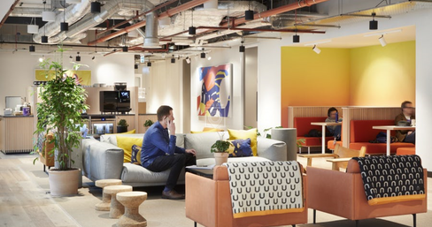 WeWork 123 Buckingham Palace Rd, London | coworkspace.com