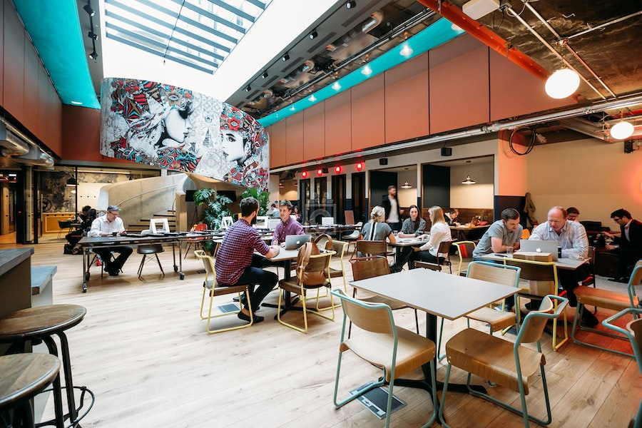 WeWork 8 Devonshire Square, London
