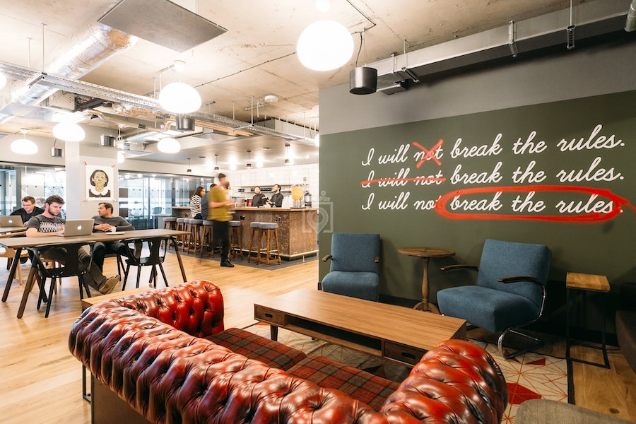 WeWork Chancery Lane Fox Court, London