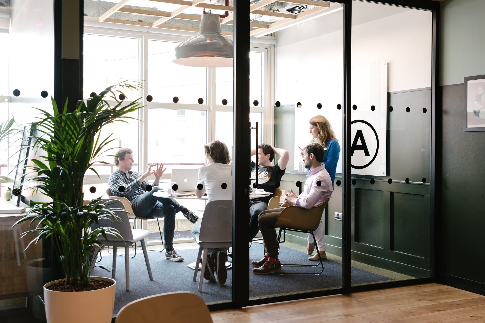 WeWork Kings Place, London