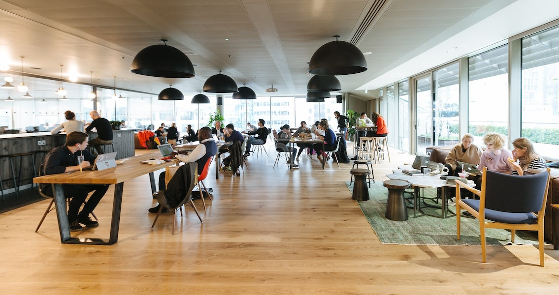 WeWork Moorgate, London