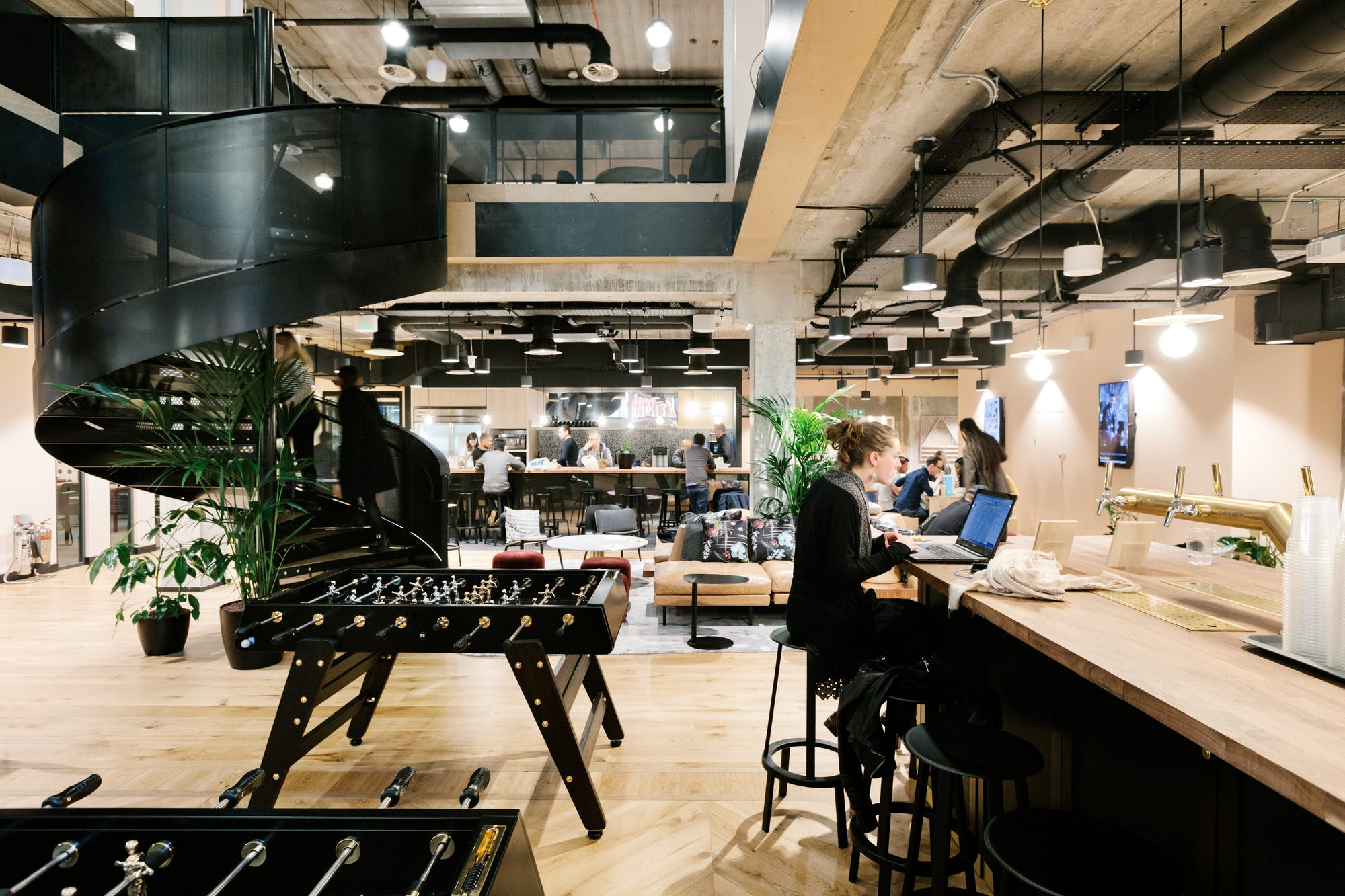 WeWork Shoreditch Mark Square, London