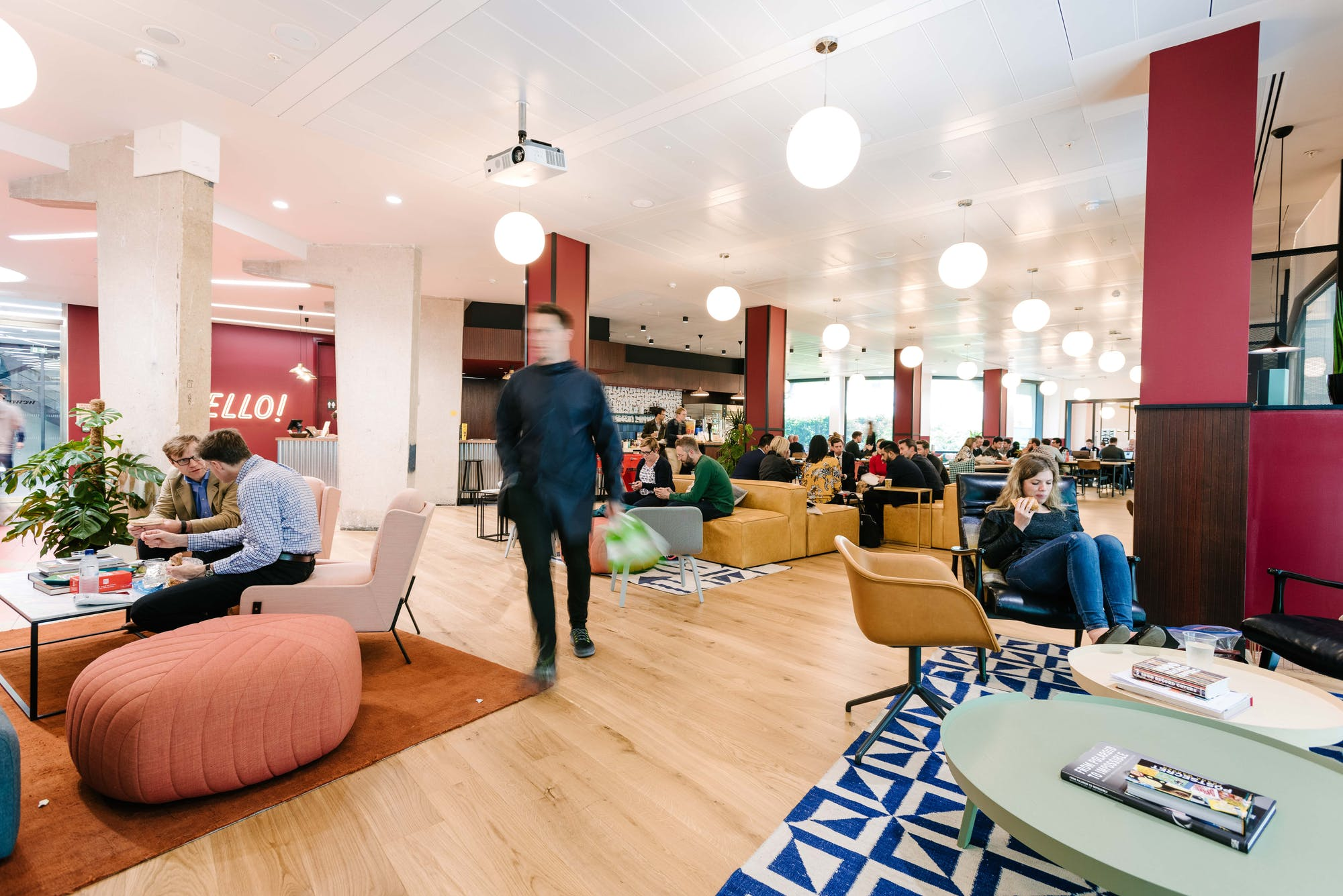 WeWork South Bank Central, London