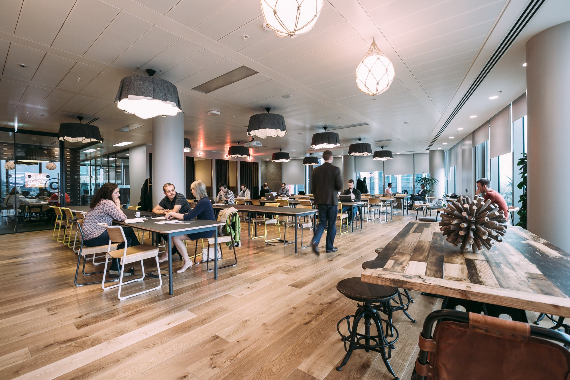 WeWork South Bank, London