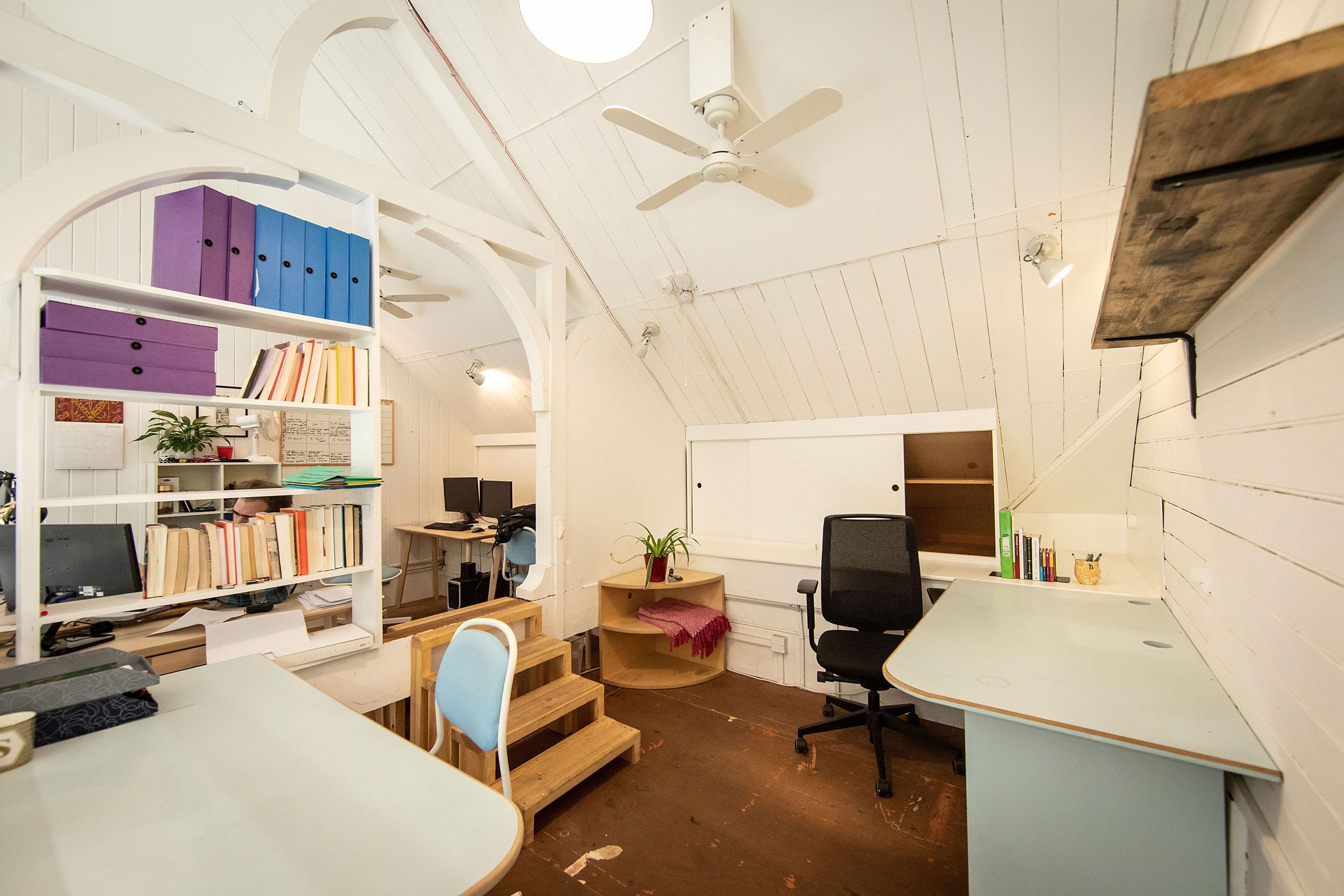 White Studio at Old Paradise Yard, London