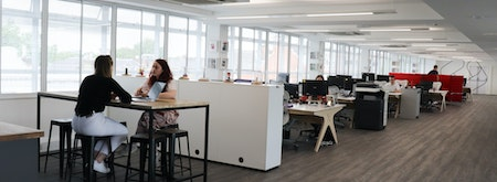 Coworking space in the heart of Richmond