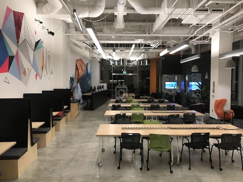 Workshop Cafe FiDi, San Francisco