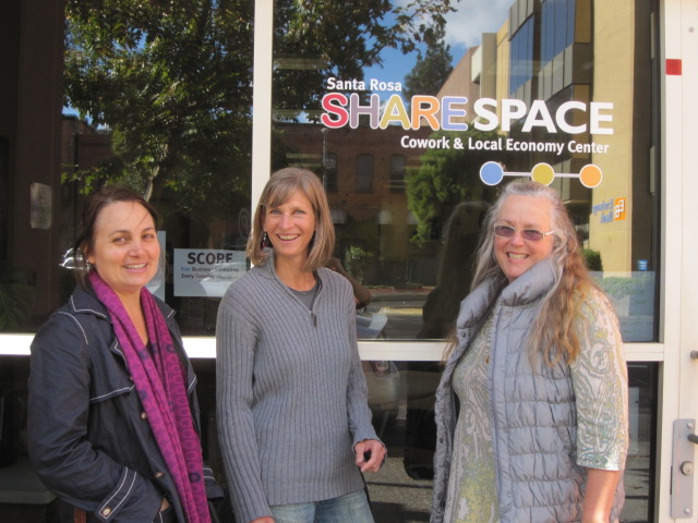Share Space Cowork & Local Economy Center, Santa Rosa