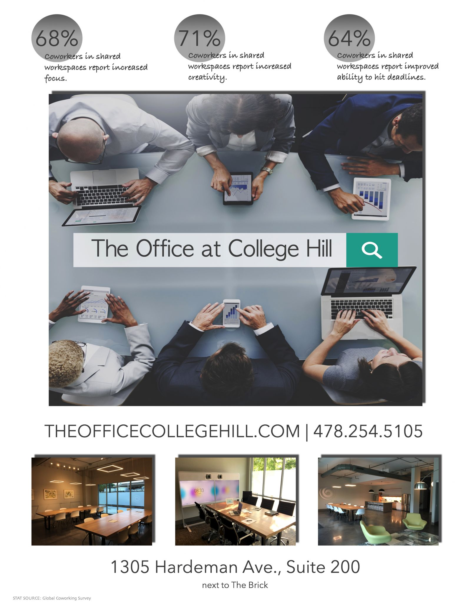 THE OFFICE AT COLLEGE HILL, Macon