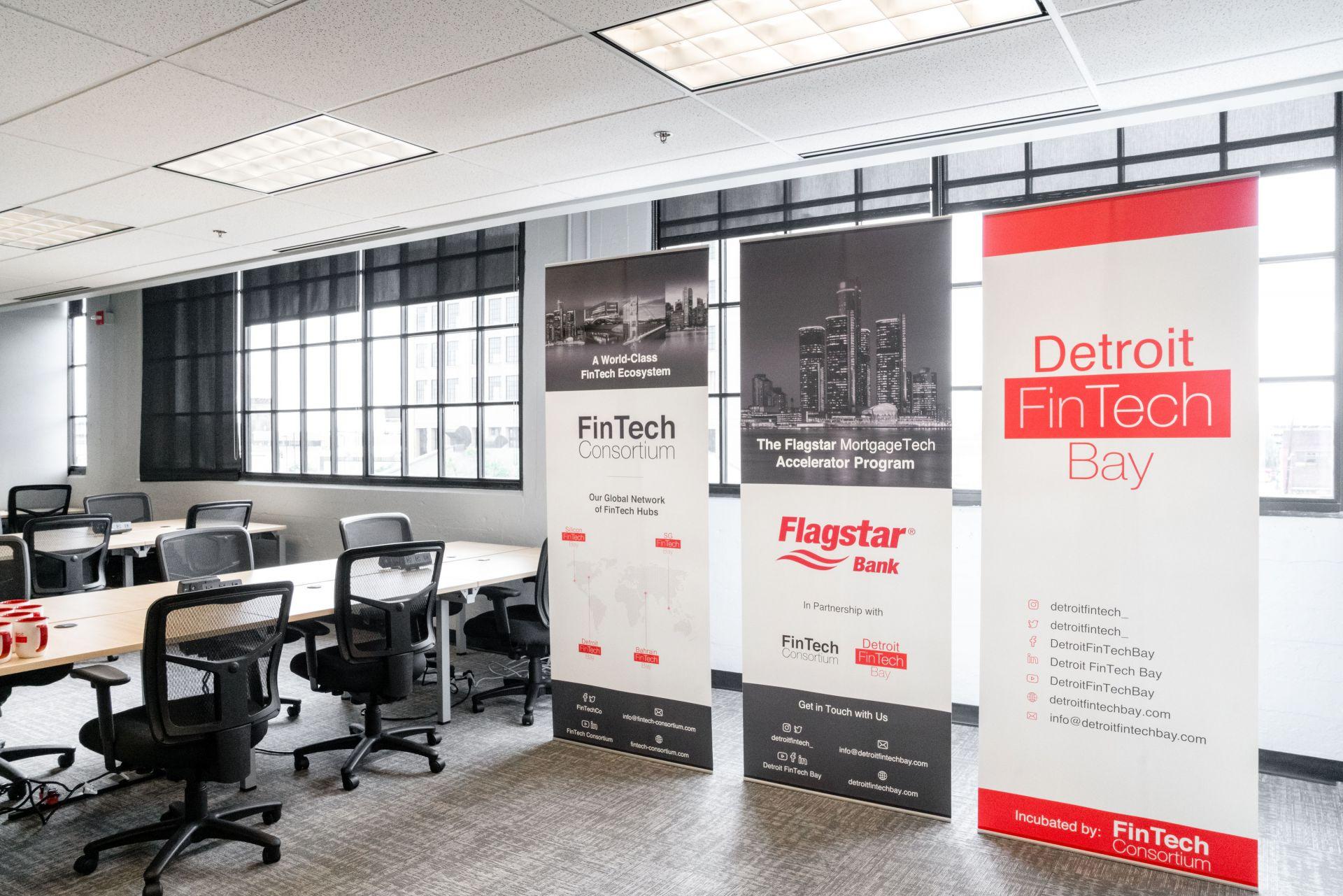 Detroit FinTech Bay- TechTown, Detroit