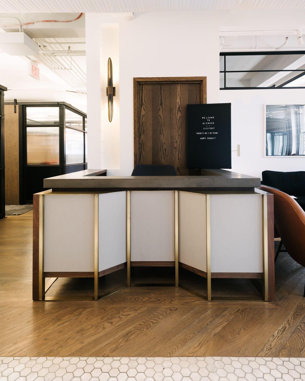 Blender Workspace, NYC