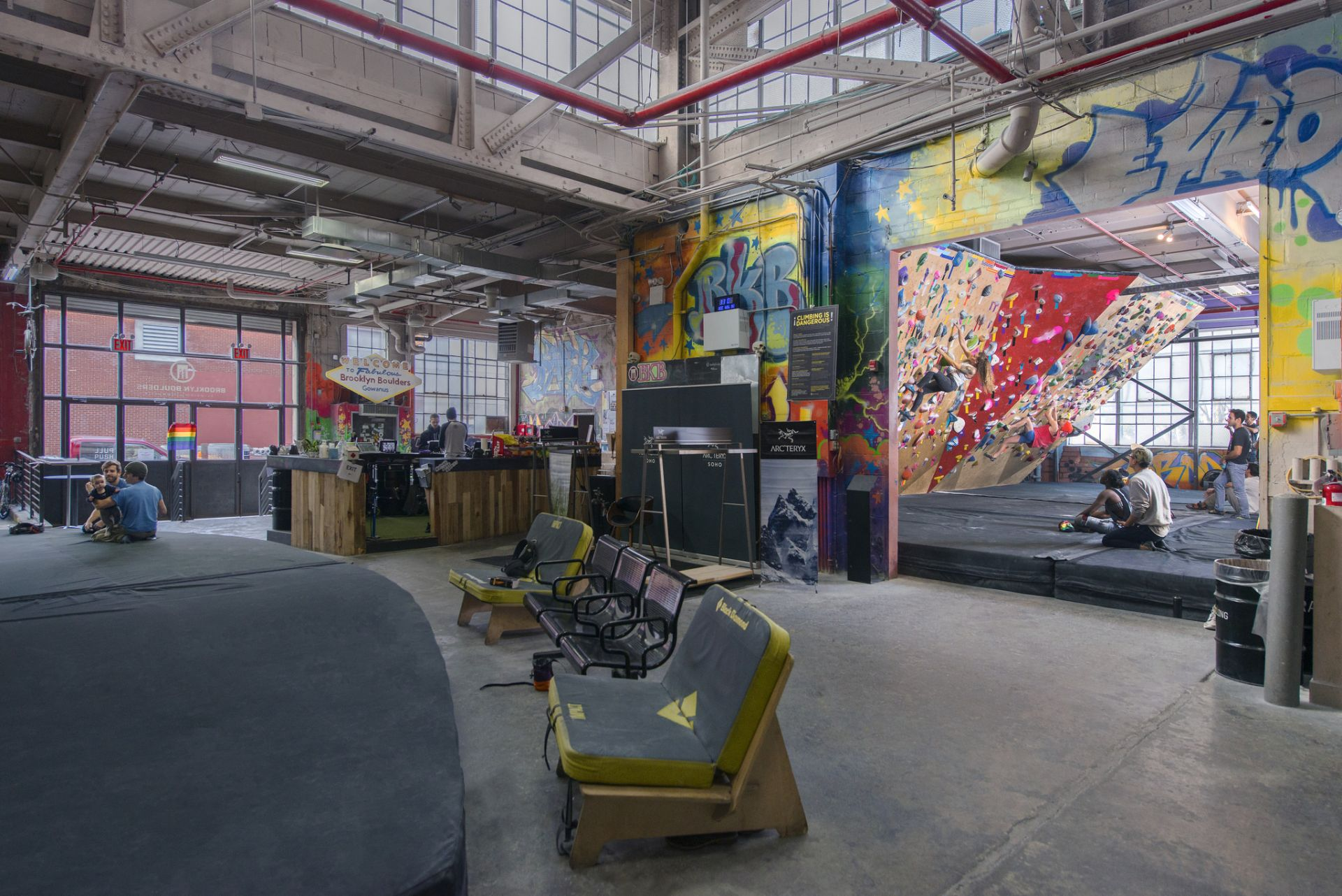 Brooklyn Boulders Gowanus, NYC