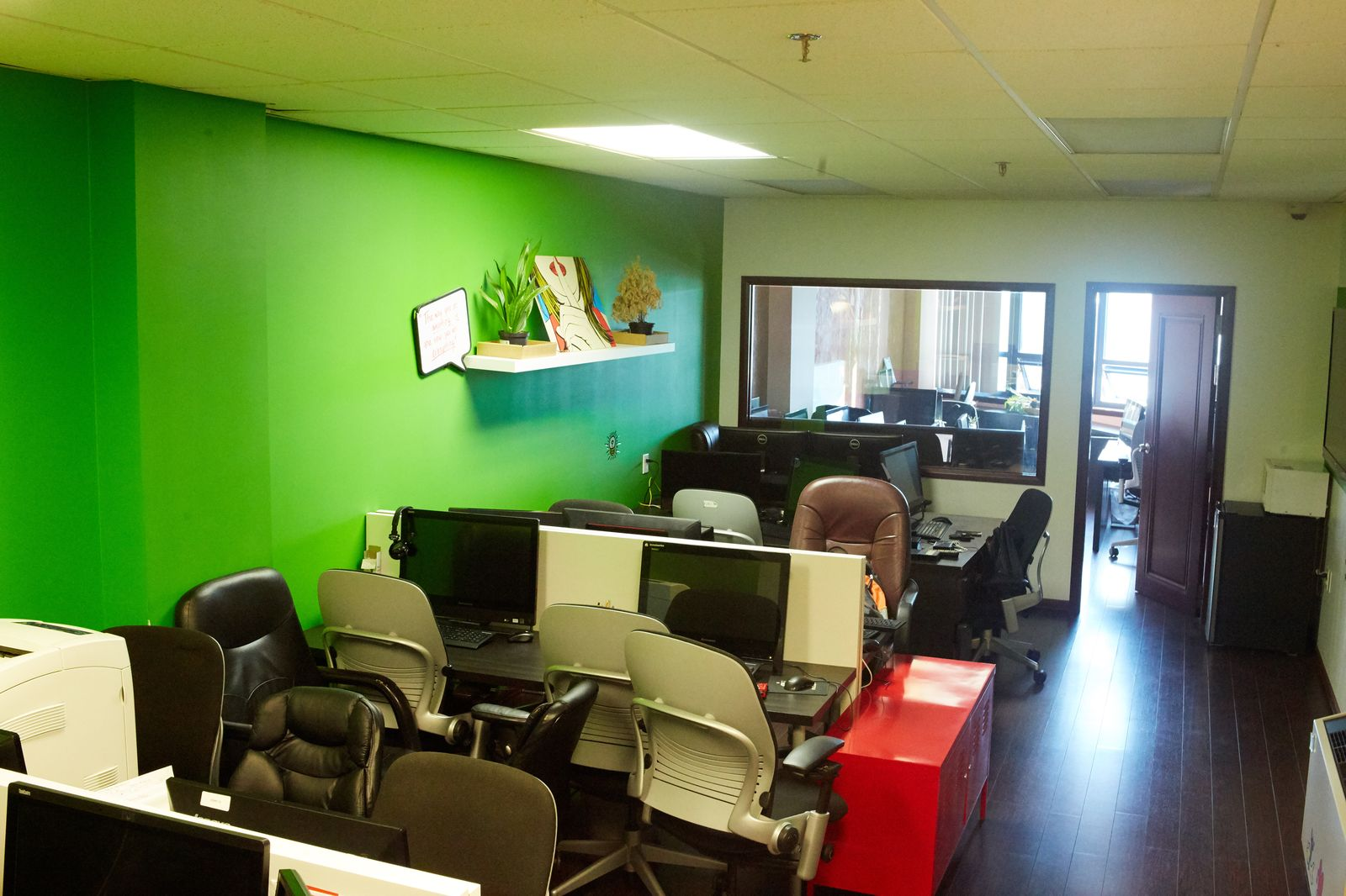 Co-working space in Sheepshead Bay, Brooklyn, NYC