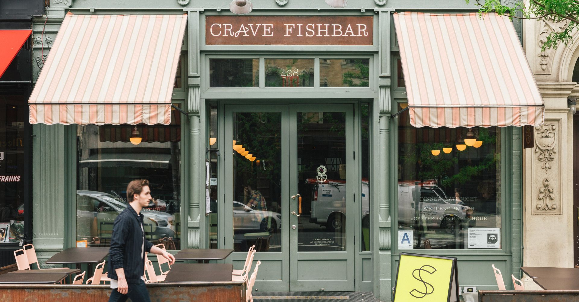 Spacious Crave Fishbar, NYC
