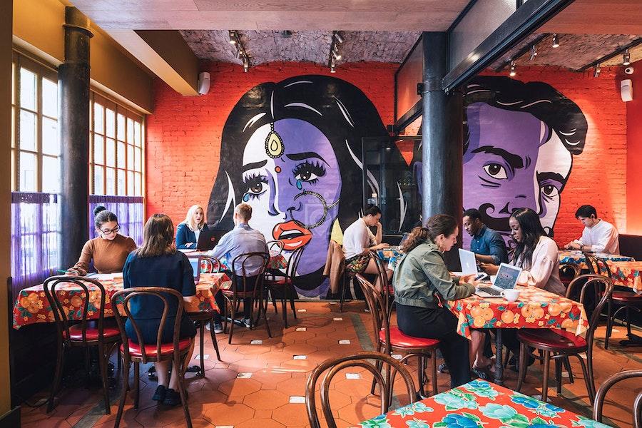 Spacious The Bombay Bread Bar, NYC