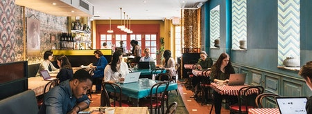 Spacious The Bombay Bread Bar