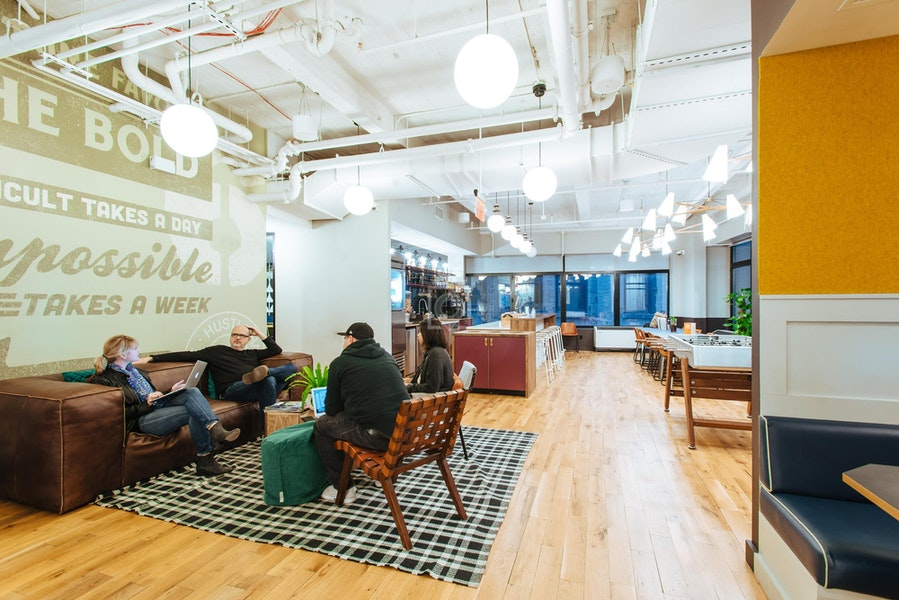WeWork 110 Wall St, NYC