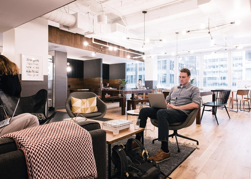 WeWork 300 Park, NYC