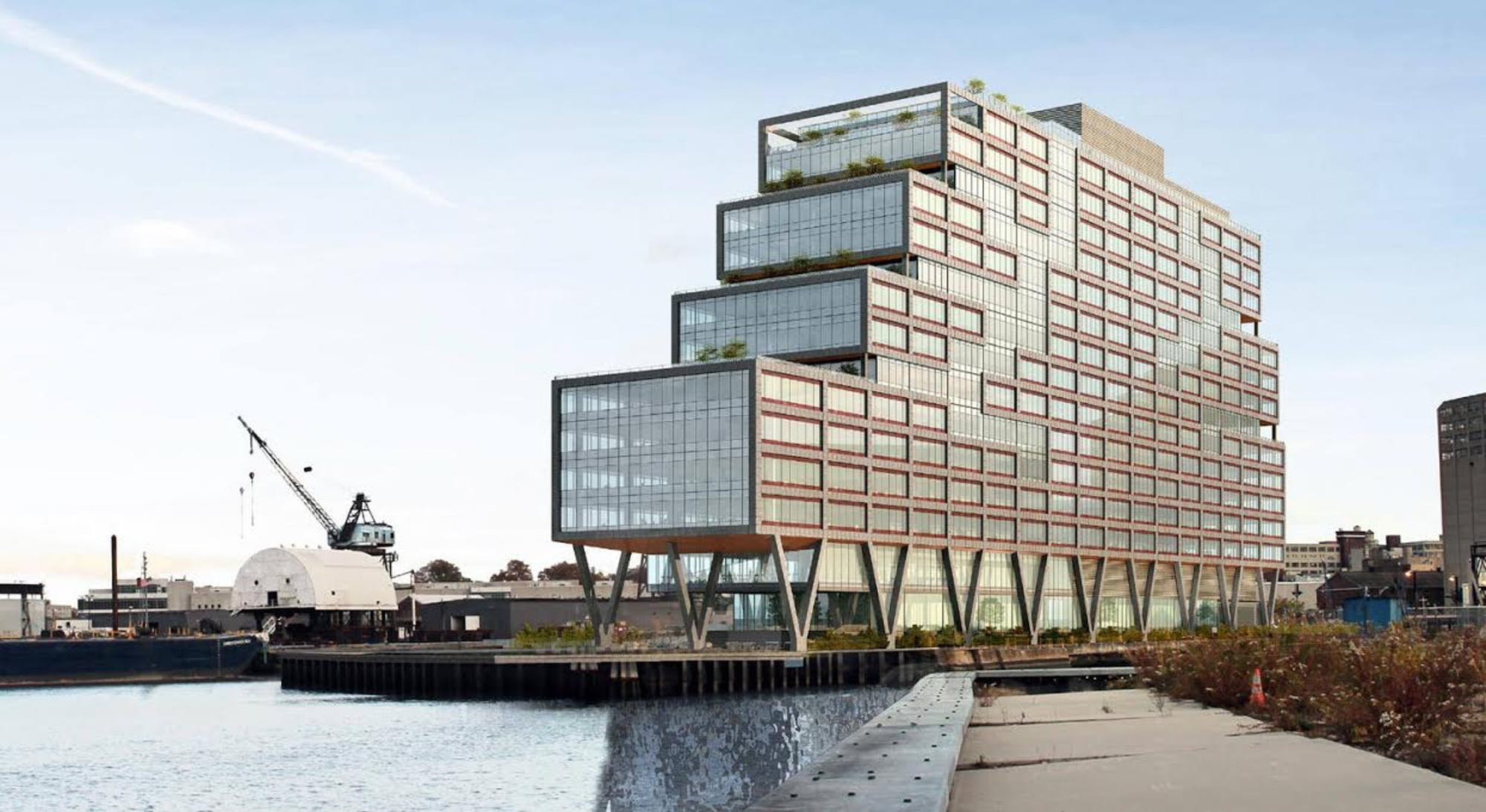 WeWork Dock 72 at the Brooklyn Navy Yard, NYC