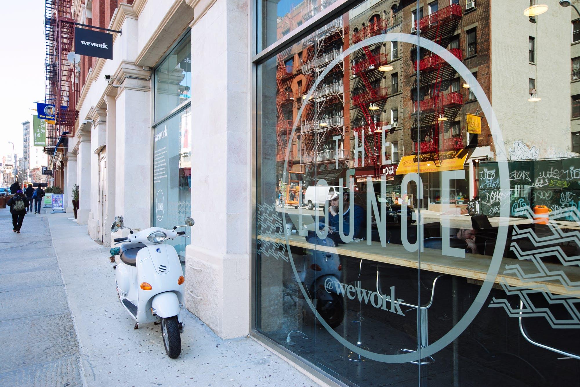 WeWork Soho, NYC