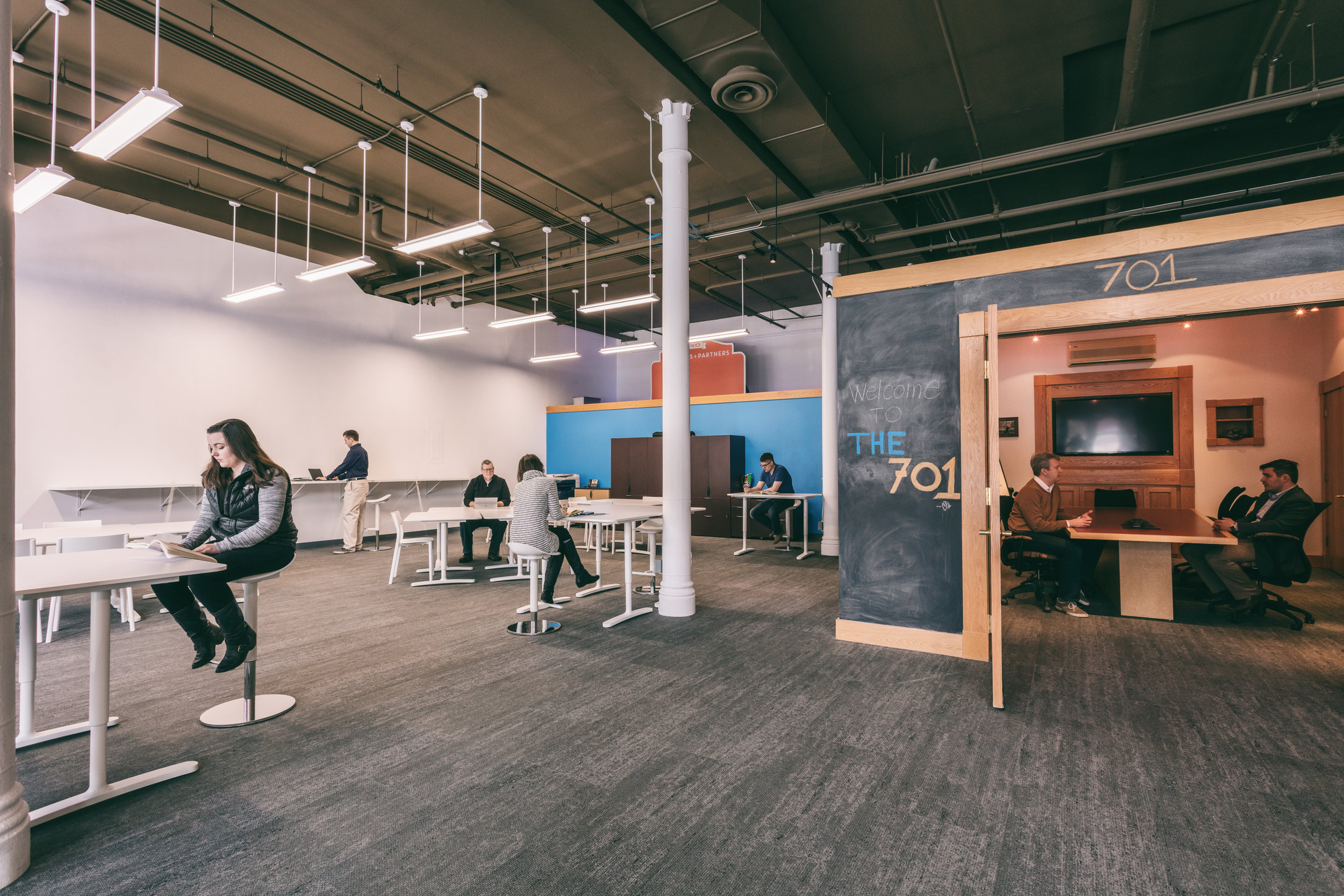 The 701 Coworking by Evolve Grand Forks, Grand Forks