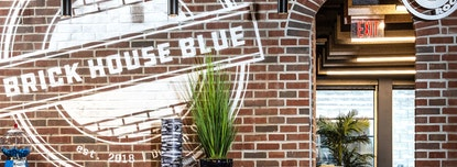 Brick House Blue
