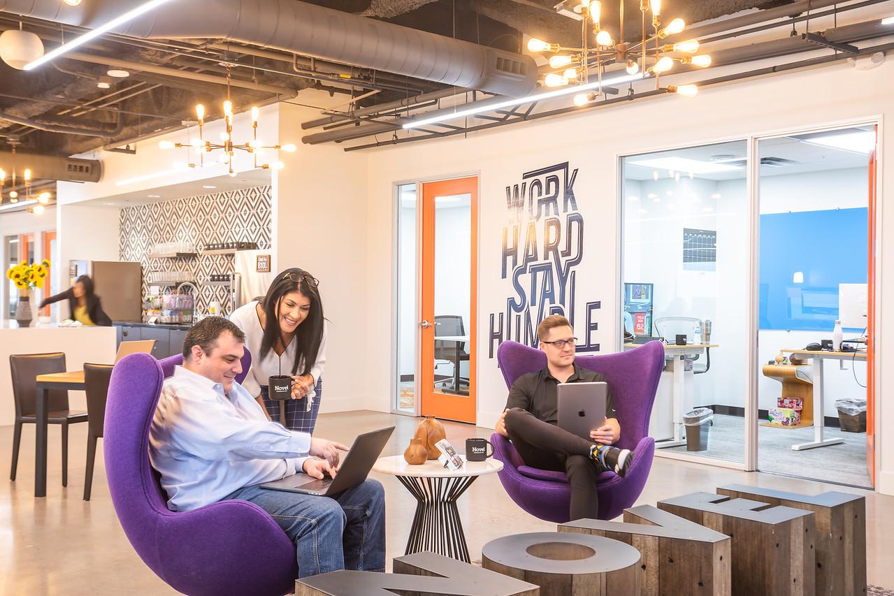 Novel Coworking Katy Building, Dallas