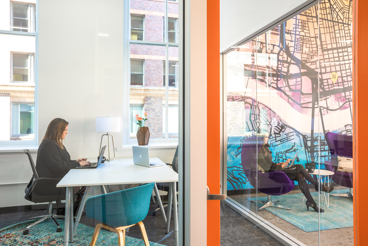 Novel Coworking- Cathedral Square, Milwaukee