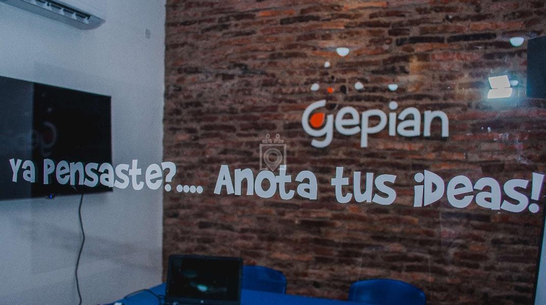 Gepian Cowork, Salto