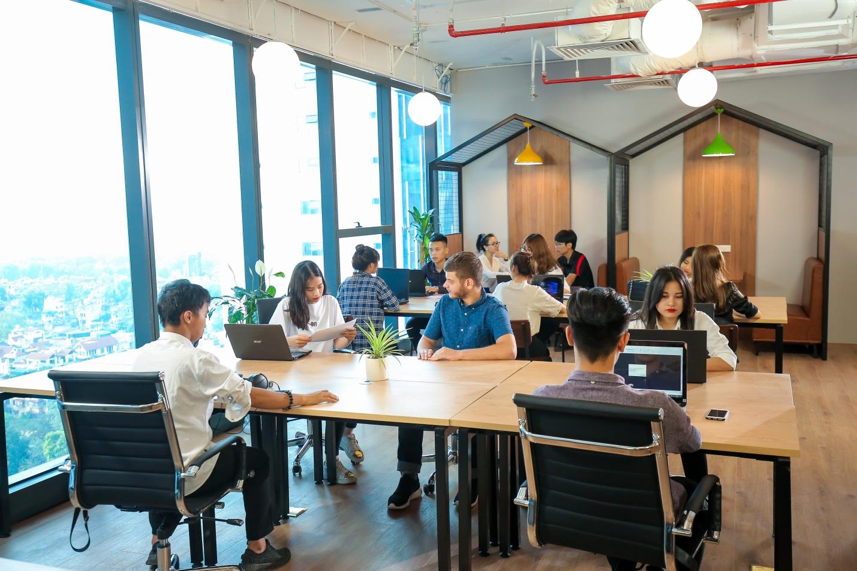 CoGo coworking space - Viet Tower, Hanoi