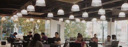 Coworking Space by TheVentures