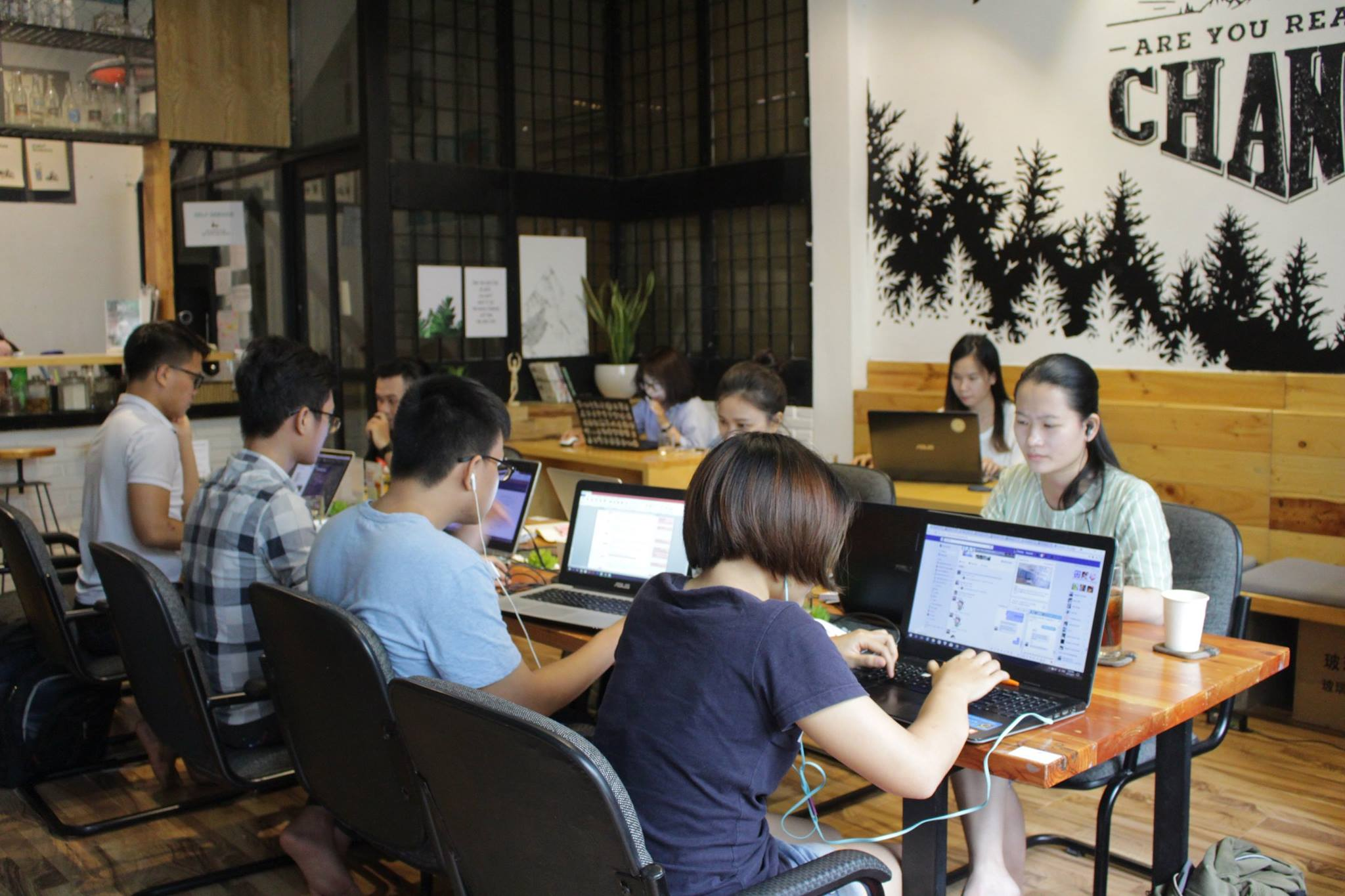 GEEK Hub Workspace and Cafeteria, Ho Chi Minh City